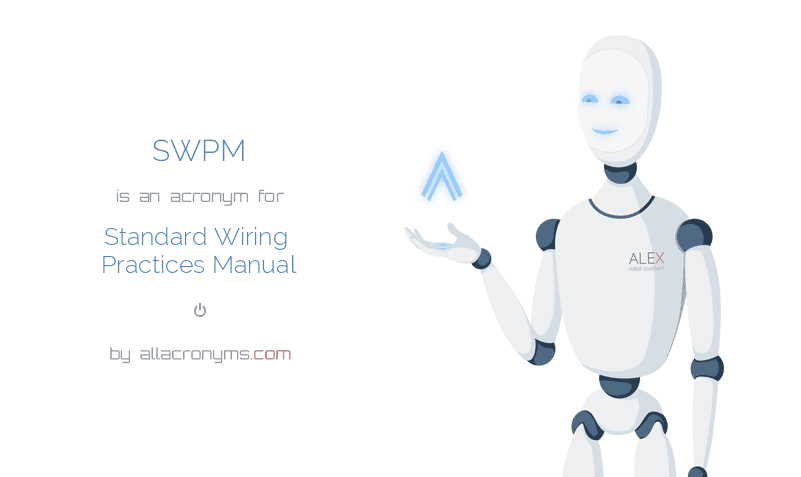 Incredible Swpm Abbreviation Stands For Standard Wiring Practices Manual Wiring Cloud Onicaalyptbenolwigegmohammedshrineorg