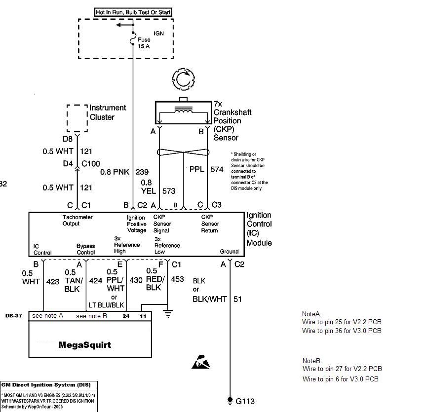 Ro 2878  Ignition Coil Distributor Wiring Diagram Engine