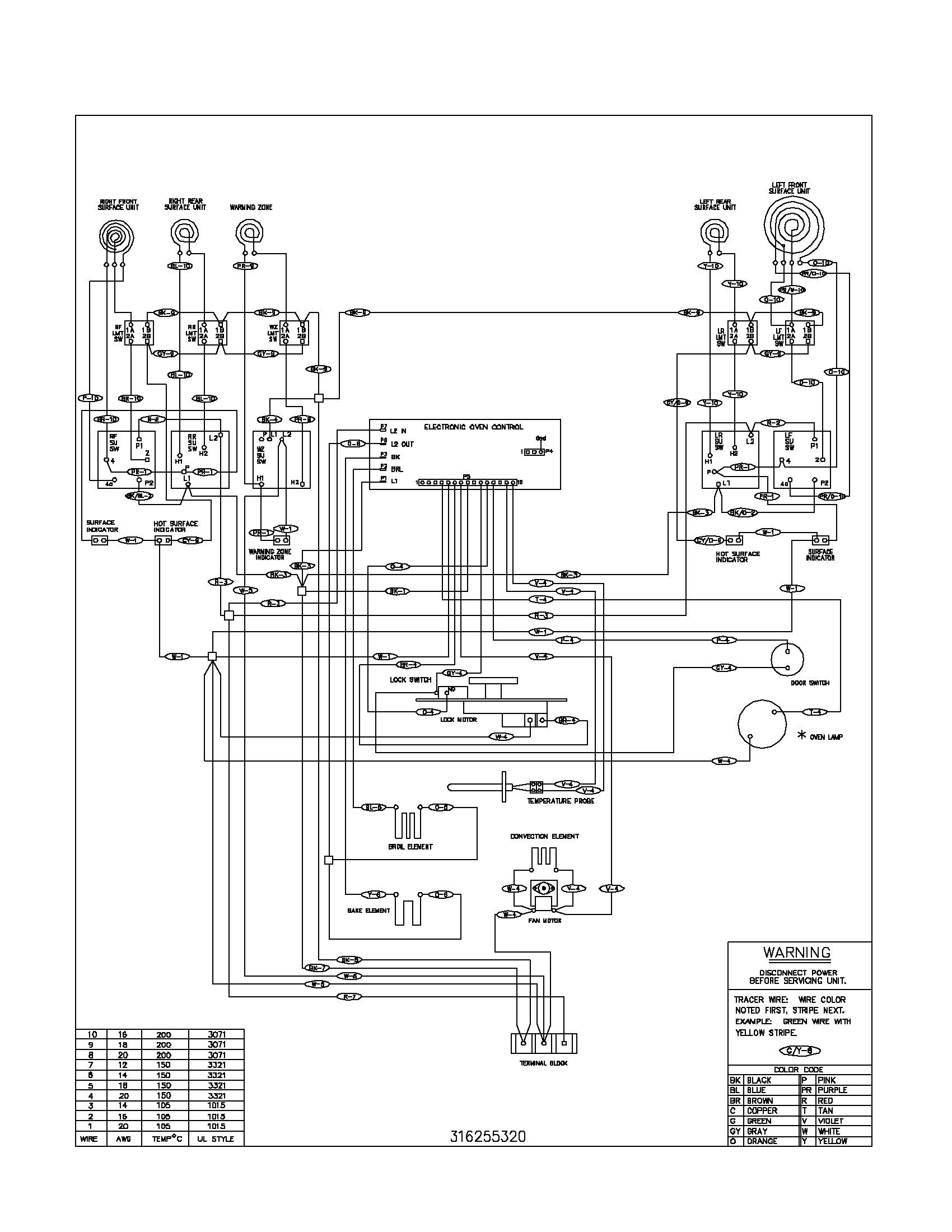 Ad 7924 Wiring Information Diagram And Parts List For Jennair