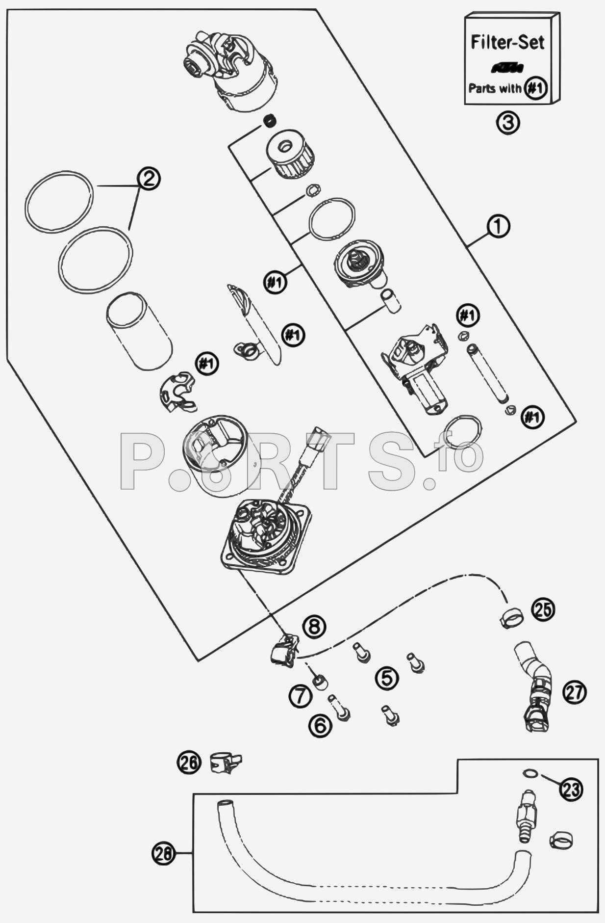 xm 8535  motorcycle fuel pump diagram free diagram