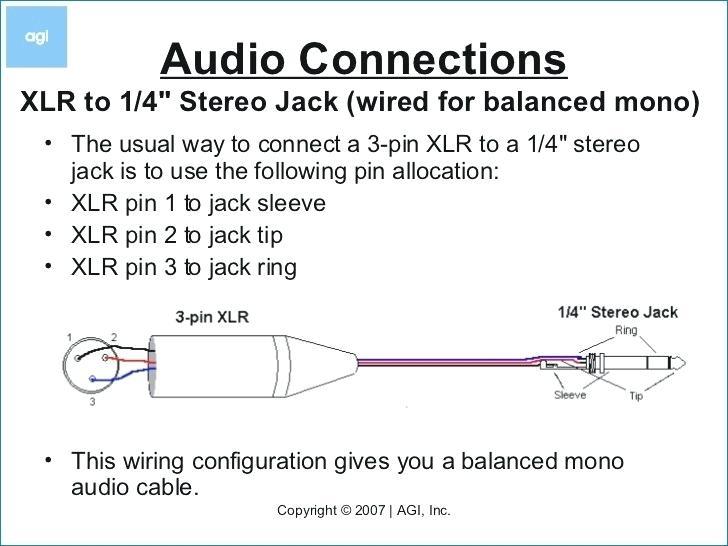xlr 1 4 mic cable wiring diagram zafira headlight wiring