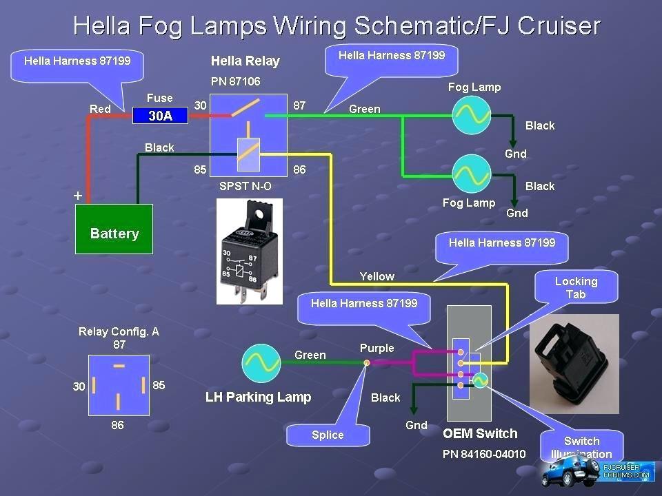 Motorcycle Fog Light Wiring Diagram