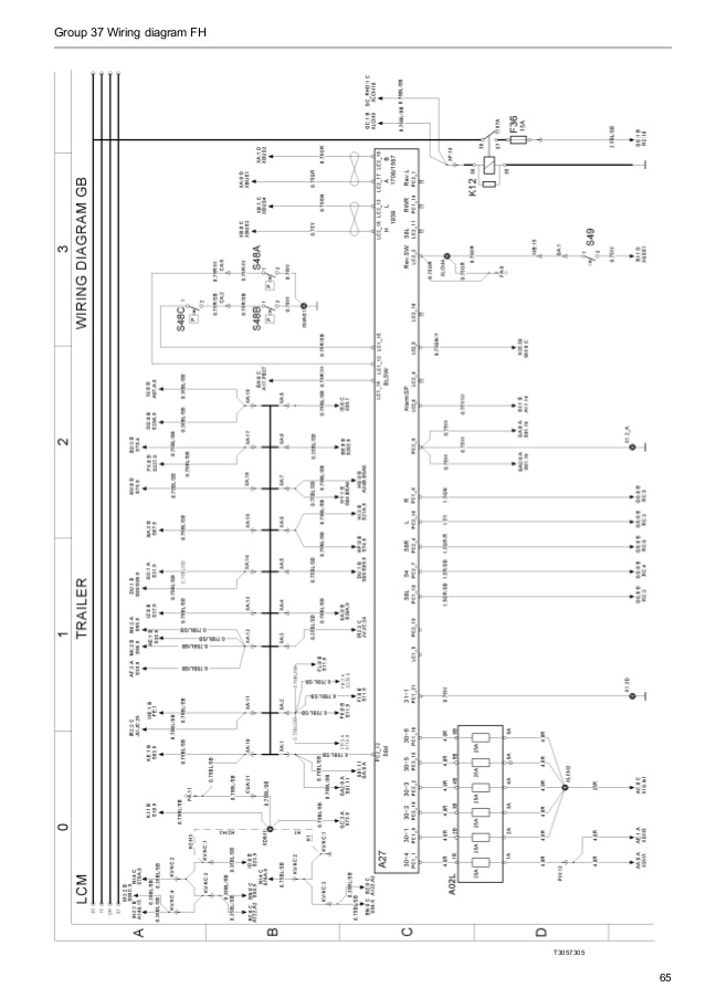 Stupendous Volvo Wiring Diagram Fh Wiring Cloud Ostrrenstrafr09Org