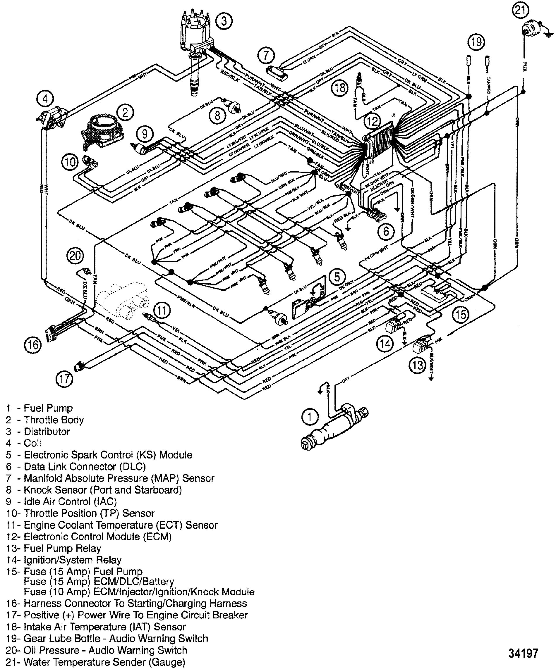 Perkins Marine Alternator Wiring Diagram
