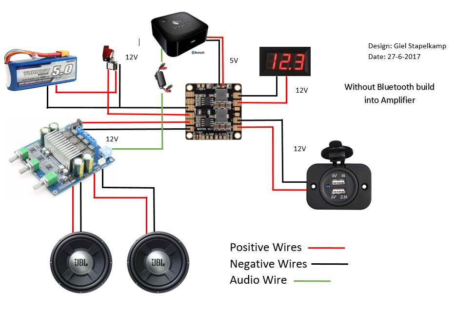 Wiring Diagram For Compnent Speakers