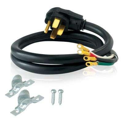 Surprising 4 Ft 6 8 4 Wire Electric Range Plug Wiring Cloud Animomajobocepmohammedshrineorg