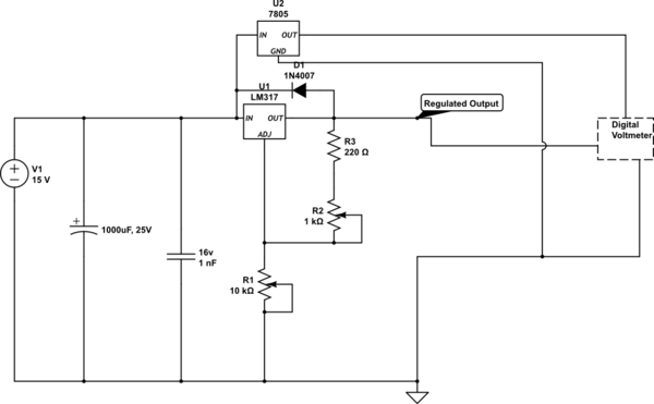 Brilliant Need Help With Lm317 Voltage Regulator Circuit Electrical Wiring Cloud Hisonepsysticxongrecoveryedborg