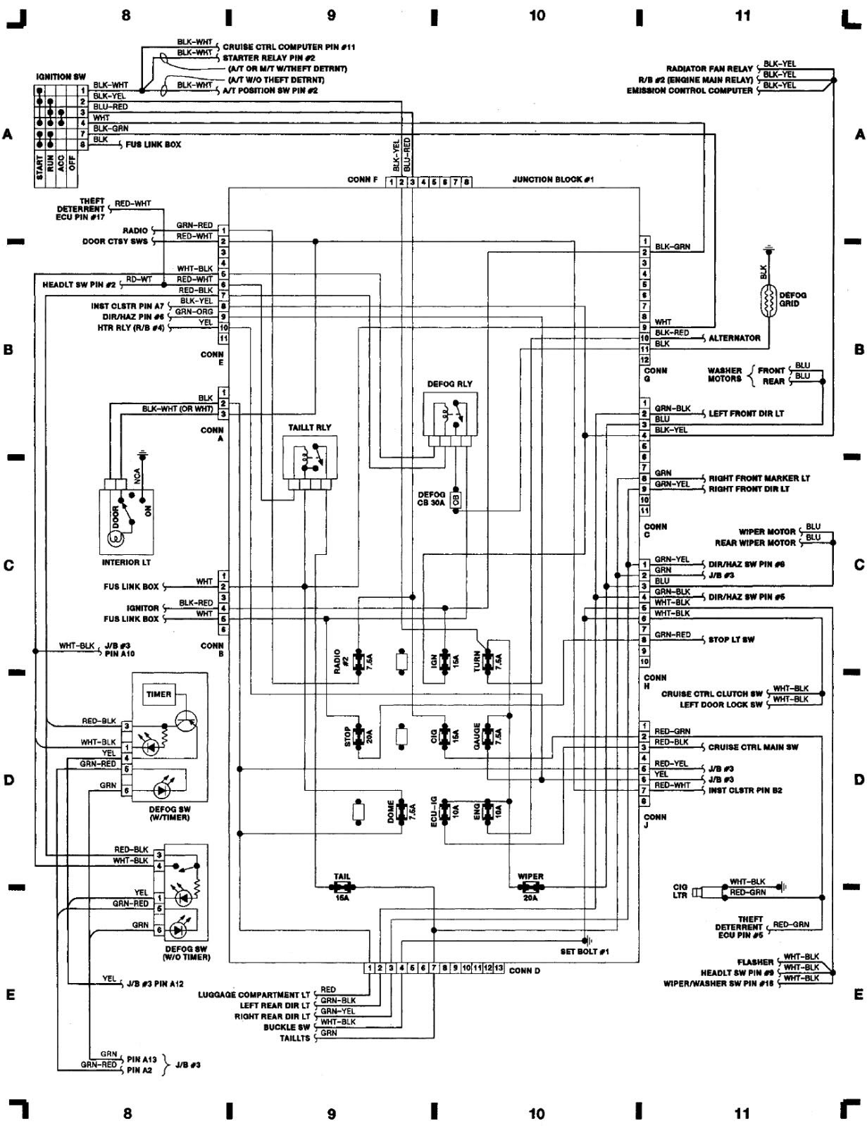 Cw 6641  82 Corolla Wiring Diagram Free Download Wiring