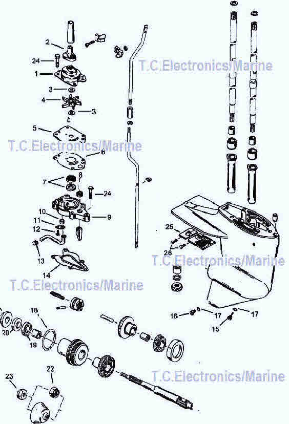 Groovy Mercury Outboard Parts Drawing 6 8 9 9 10 15 Hp Wiring Cloud Filiciilluminateatxorg