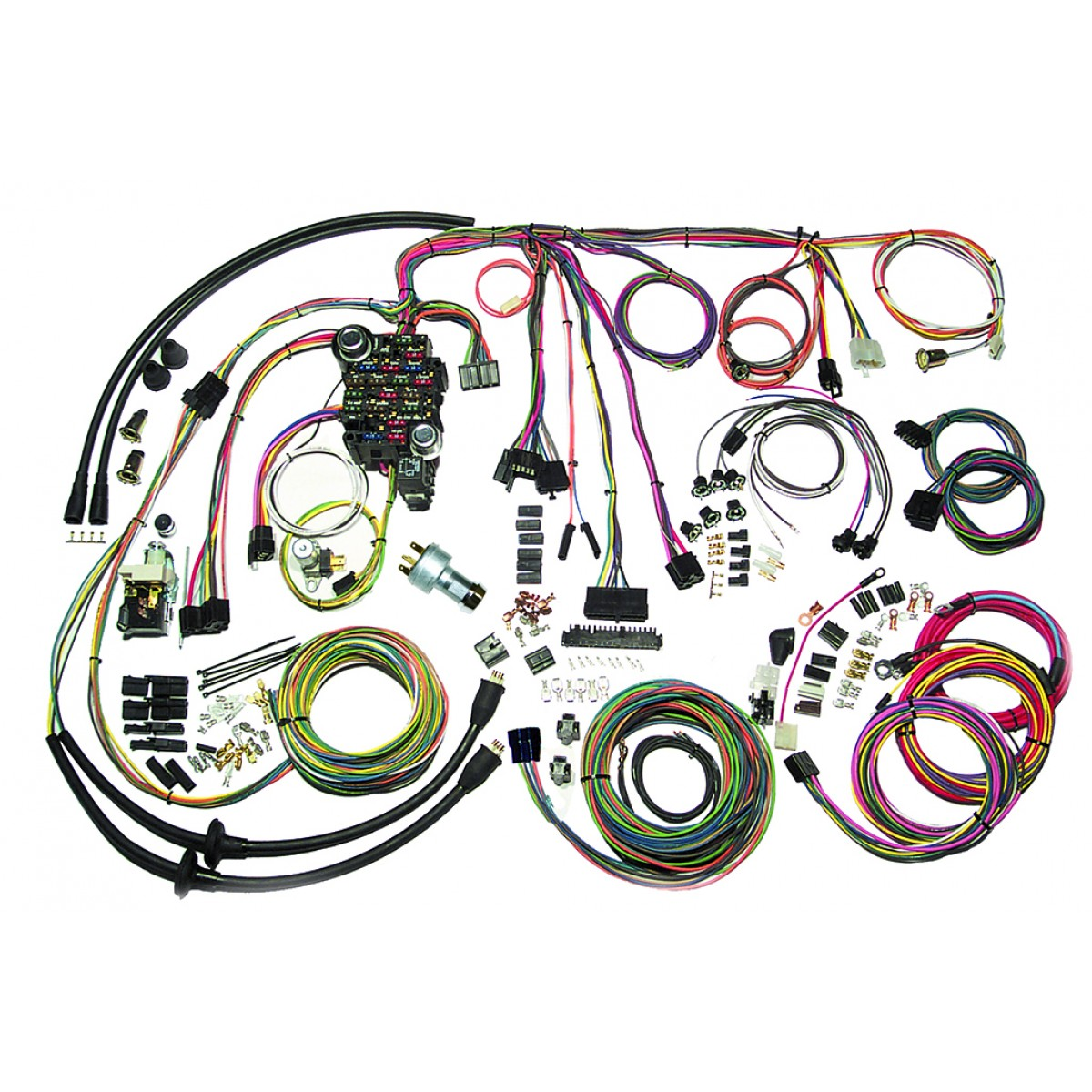 Admirable 57 Chevy Belair Wire Harness Complete Wiring Harness Kit 1957 Wiring Cloud Intelaidewilluminateatxorg