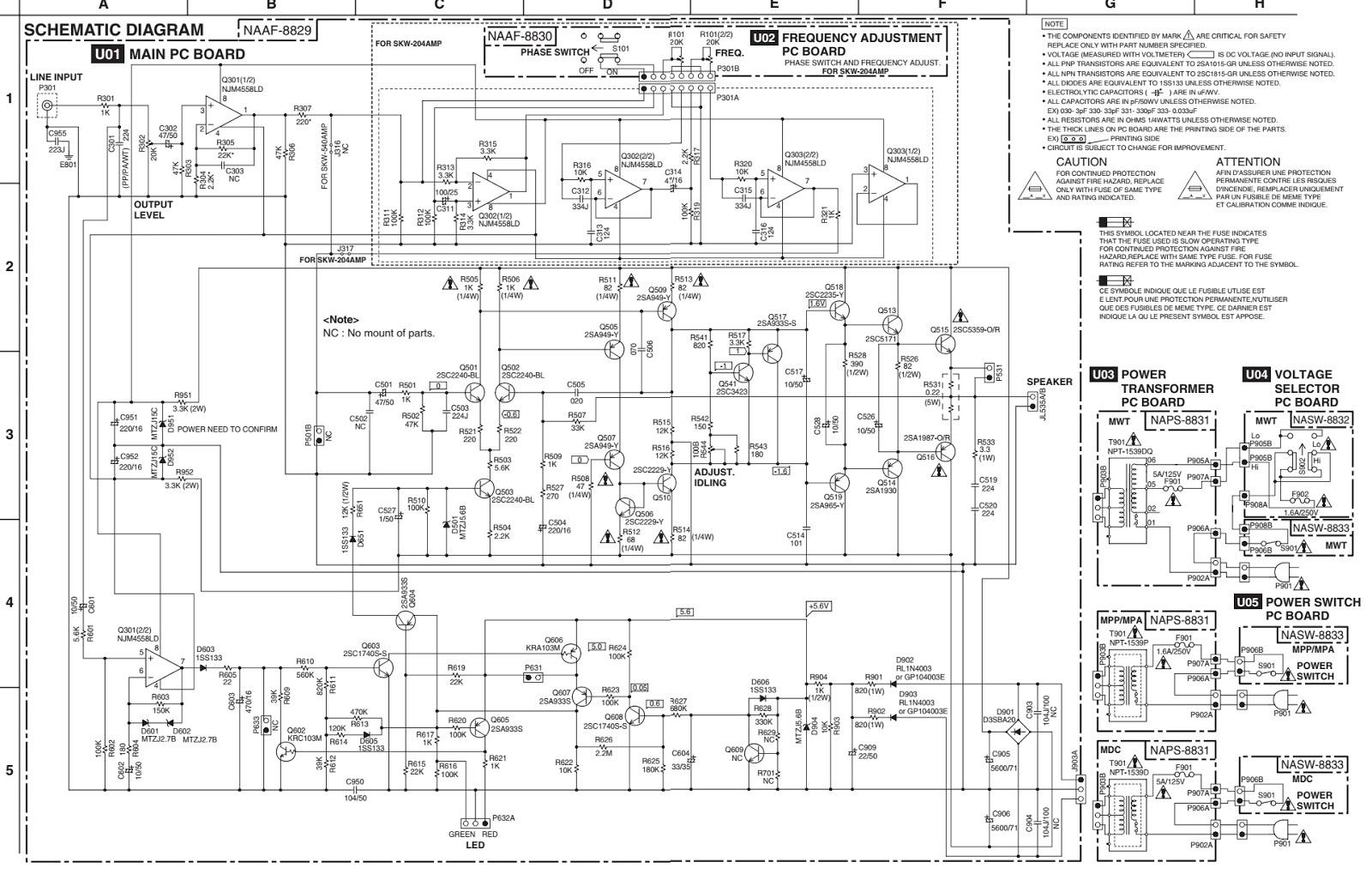 TE_4839] Onkyo Skw204 Powered Subwoofer Service Manual Schematic WiringRucti Isop Arch Pila Verr Ospor Capem Numap Anal Cajos Mohammedshrine  Librar Wiring 101