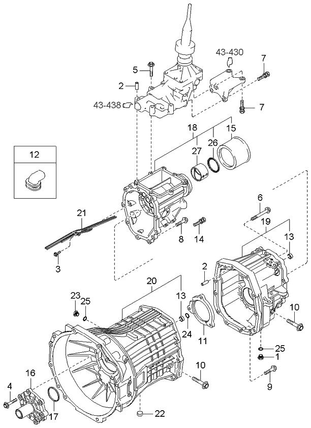 Magnificent 431803C300 Genuine Kia Assy Transmission Case Wiring Cloud Domeilariaidewilluminateatxorg