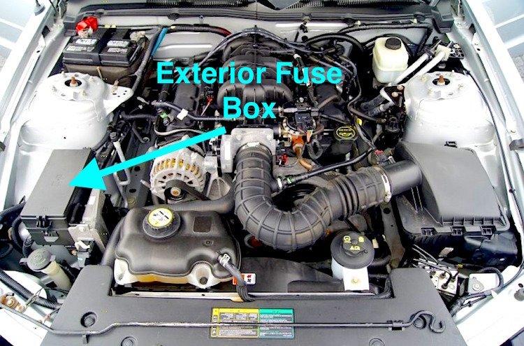 Cool Ford Mustang V6 And Ford Mustang Gt 2005 2014 Fuse Box Diagram Wiring Cloud Licukosporaidewilluminateatxorg