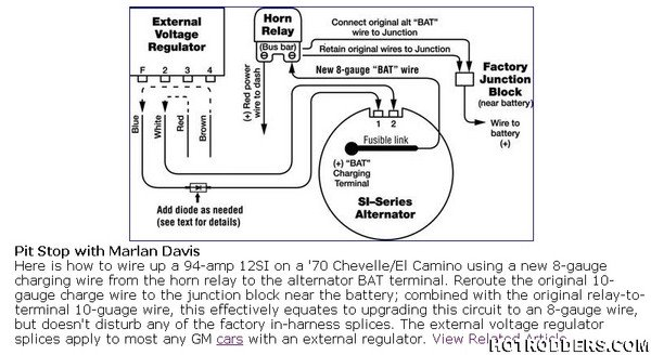 1970 Chevelle Alternator Wiring Diagram   Wiring Diagrams News example   Chevrolet Voltage Regulator Wiring Diagram      wiring diagram library