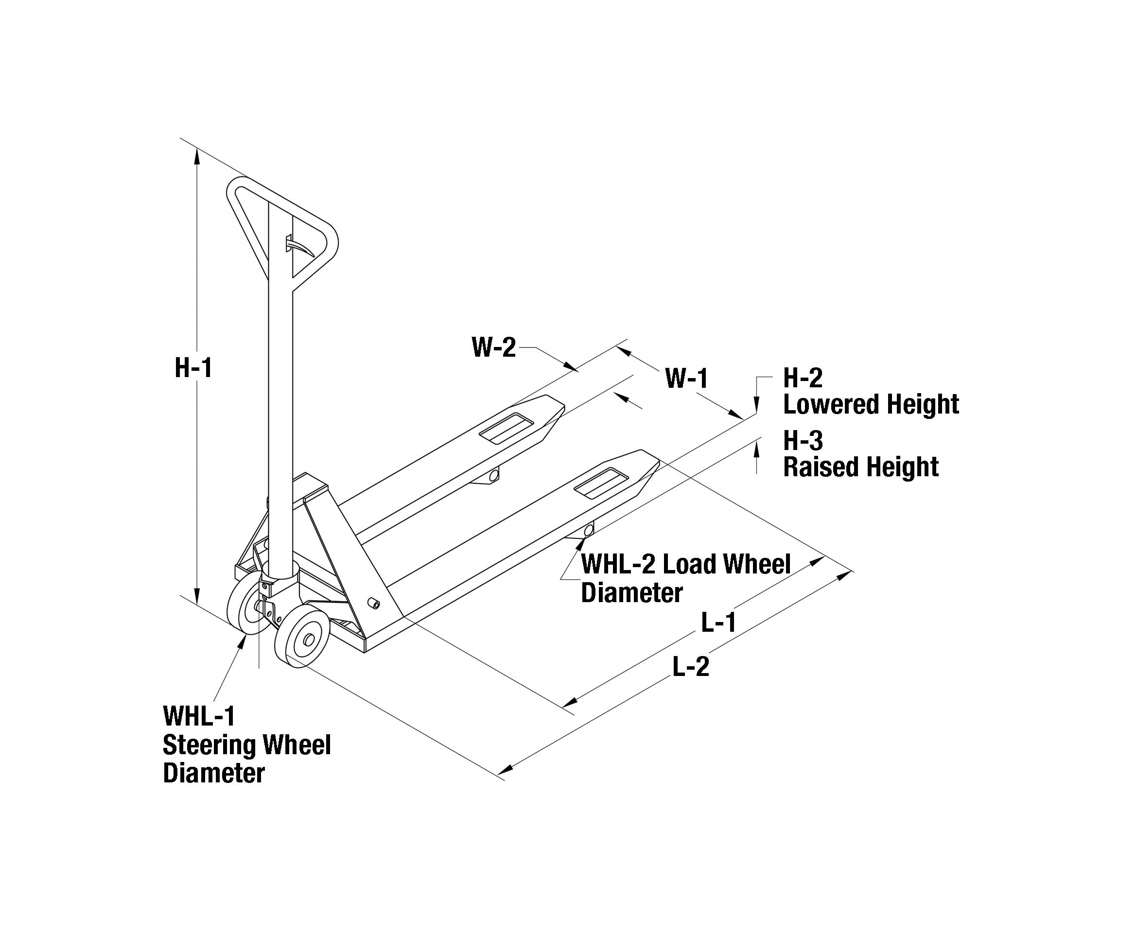 Va 3113  Manual Pallet Jacks Diagram Wiring Diagram