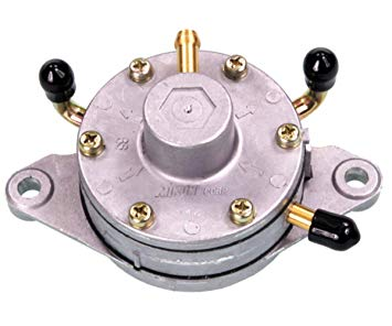 Phenomenal Amazon Com Mikuni Fuel Pump Dual Outlet Round Flush Mount Wiring Cloud Onicaxeromohammedshrineorg