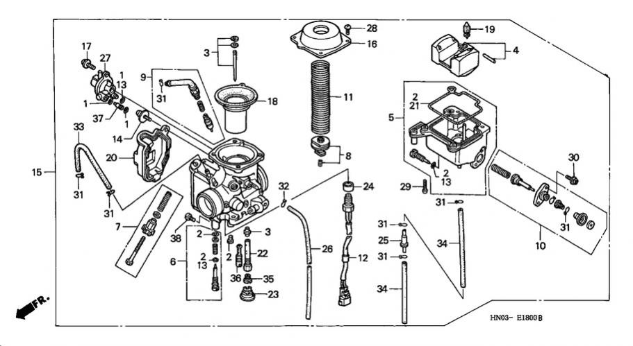 Honda Fourtrax 300 Carburetor Adjustment