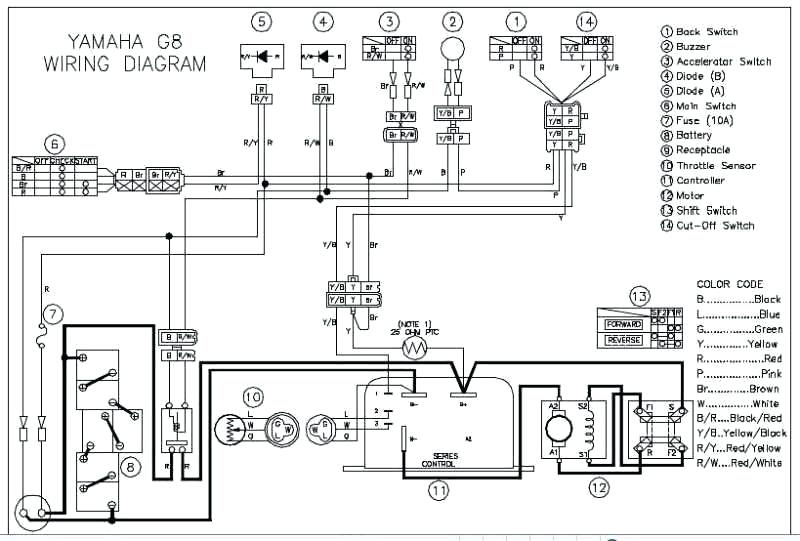 swap diagram: 25+ 19e yamaha golf cart wiring diagram png  swap diagram