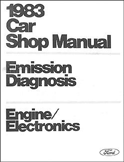 Fine 1983 Car Engine Emissions Diagnosis Manual Original Wiring Cloud Rineaidewilluminateatxorg