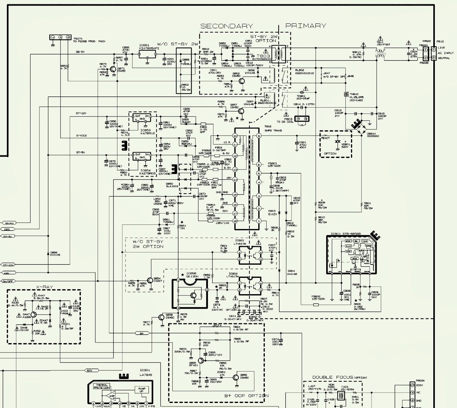 an_5788] tv circuit board repair as well samsung tv schematic circuit  diagram download diagram  pila licuk mohammedshrine librar wiring 101
