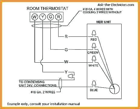 Dt 0508 4 Wire Thermostat Diagram Download Diagram