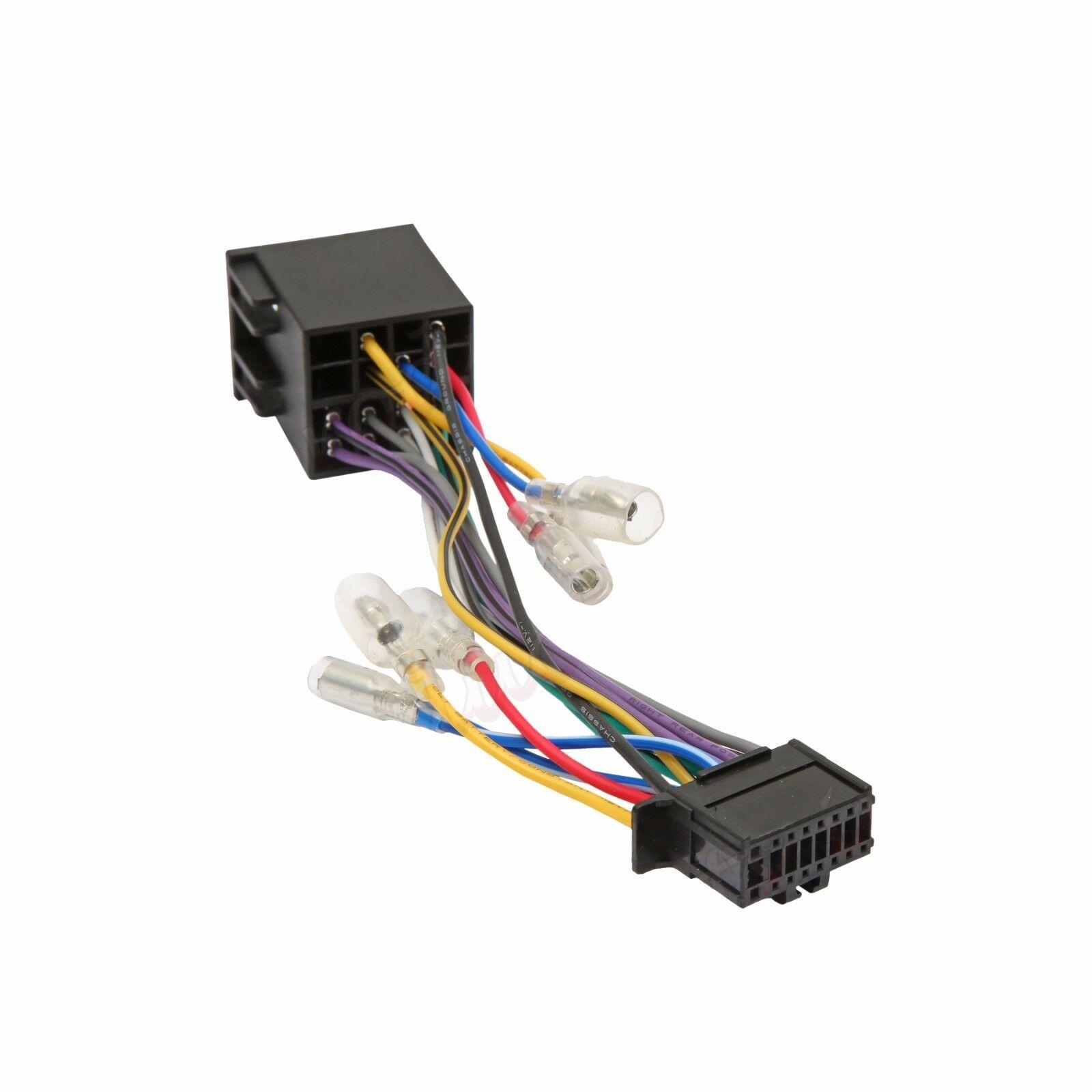 Marvelous Pioneer 16 Pin Iso Wiring Harness Connector Adaptor Car Stereo Radio Wiring Cloud Hemtegremohammedshrineorg