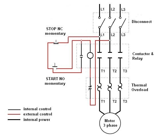 motor starter hand off auto wiring diagram 3 phase contactor with start stop wiring diagram rain balmoond14  start stop wiring diagram