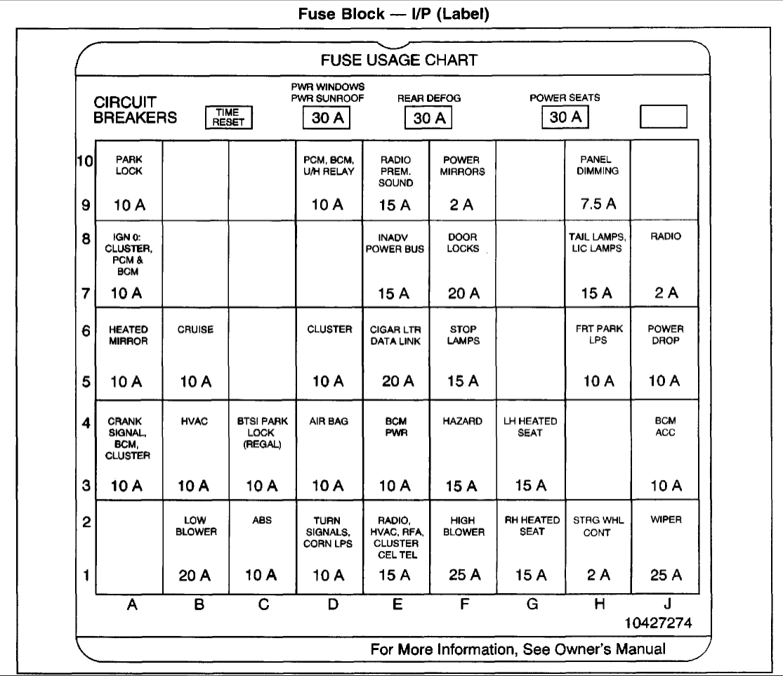 1997 buick lesabre fuse box diagram db 8290  92 buick century wiring diagram  db 8290  92 buick century wiring diagram