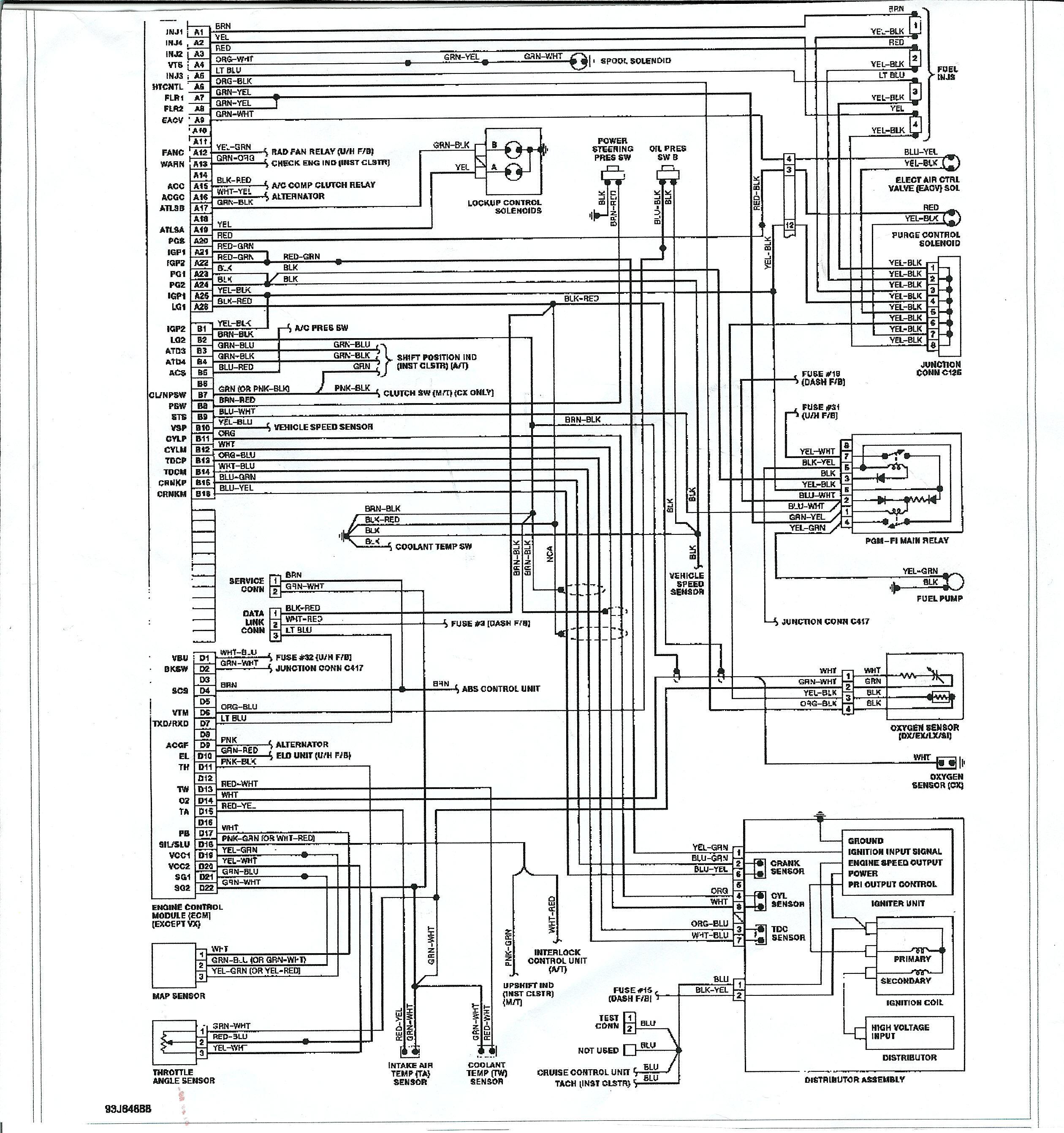 ecu schematic diagram na 9915  civic obd2 ecu wiring diagram on lexus is300 wire sensor  obd2 ecu wiring diagram on lexus is300