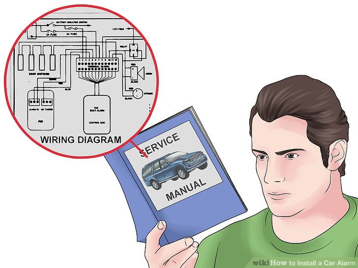 Brilliant How To Install A Car Alarm 15 Steps With Pictures Wikihow Wiring Cloud Inklaidewilluminateatxorg