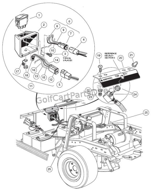 Dg 9732 Club Car 48v Wiring Diagram Wiring Harness Wiring Diagram Free Diagram