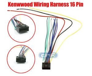 Incredible Kenwood Wiring Harness 16 Pin Kdc 138 Kdc 215S Kdc 217 Ships Today Wiring Cloud Staixaidewilluminateatxorg