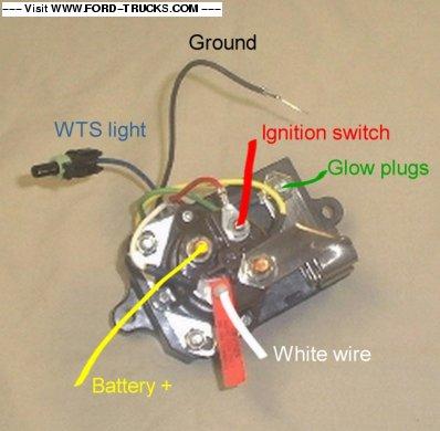 Awe Inspiring Glow Plug Wiring Harness Page 2 Diesel Truck Forum Oilburners Net Wiring Cloud Intelaidewilluminateatxorg