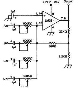 df_2982] audio mixer with ssm2024 free diagram  mopar kicep mohammedshrine librar wiring 101