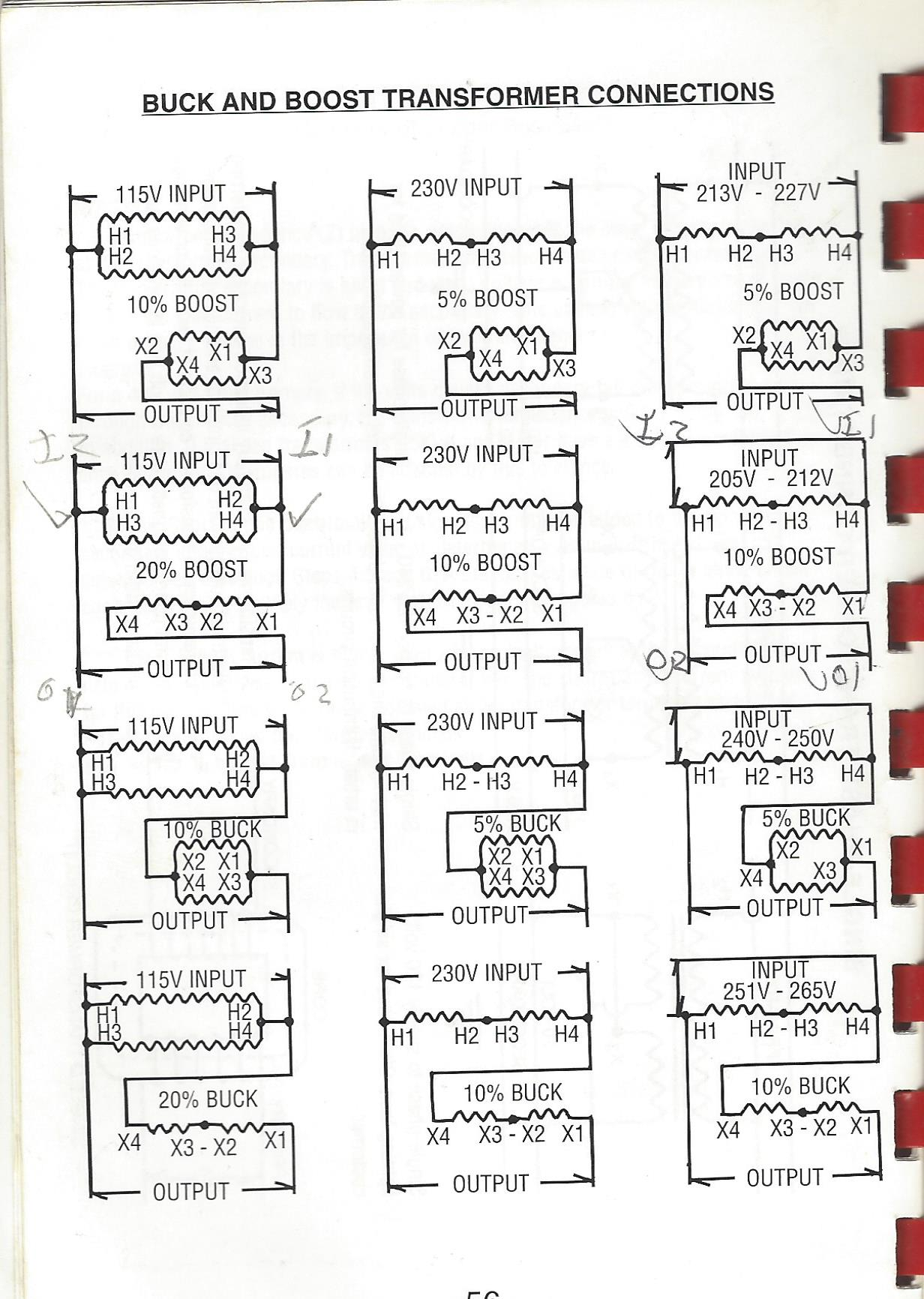 Acme Transformer Buck Boost Wiring Diagrams