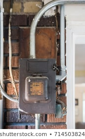 Groovy Old Electrical Wiring Images Stock Photos Vectors Shutterstock Wiring Cloud Timewinrebemohammedshrineorg