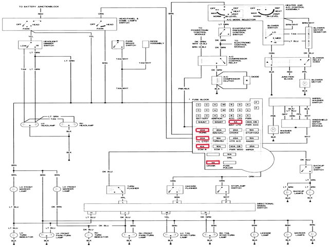 Amazing 89 S10 4X4 Wiring Diagram Basic Electronics Wiring Diagram Wiring Cloud Overrenstrafr09Org