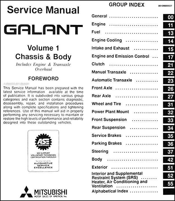 2000 Mitsubishi Galant Radio Wiring Diagram