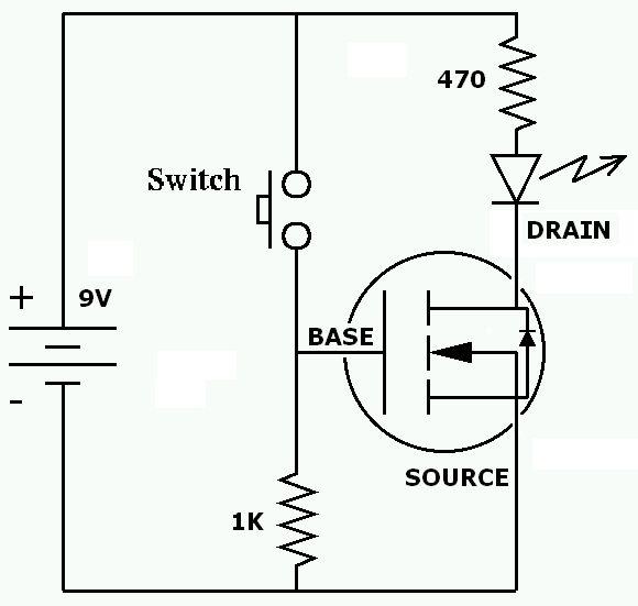 mosfet wiring diagram rc 7182  mosfet testing circuit free diagram  mosfet testing circuit free diagram