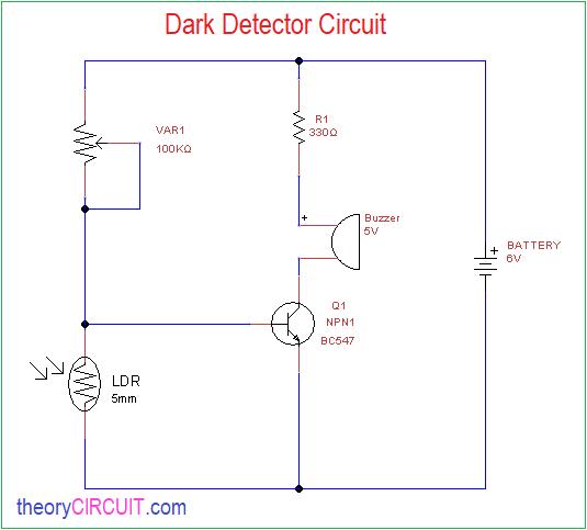 Magnificent Dark Detector Circuits Using Different Light Sensors Wiring Cloud Rometaidewilluminateatxorg