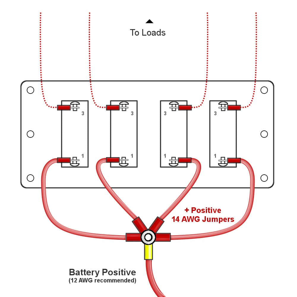 4 Gang Switch Box Wiring Diagram