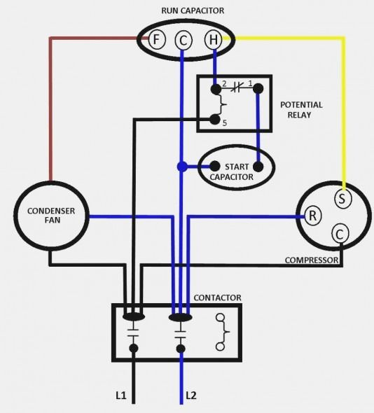 Home Ac Compressor Wiring Diagram