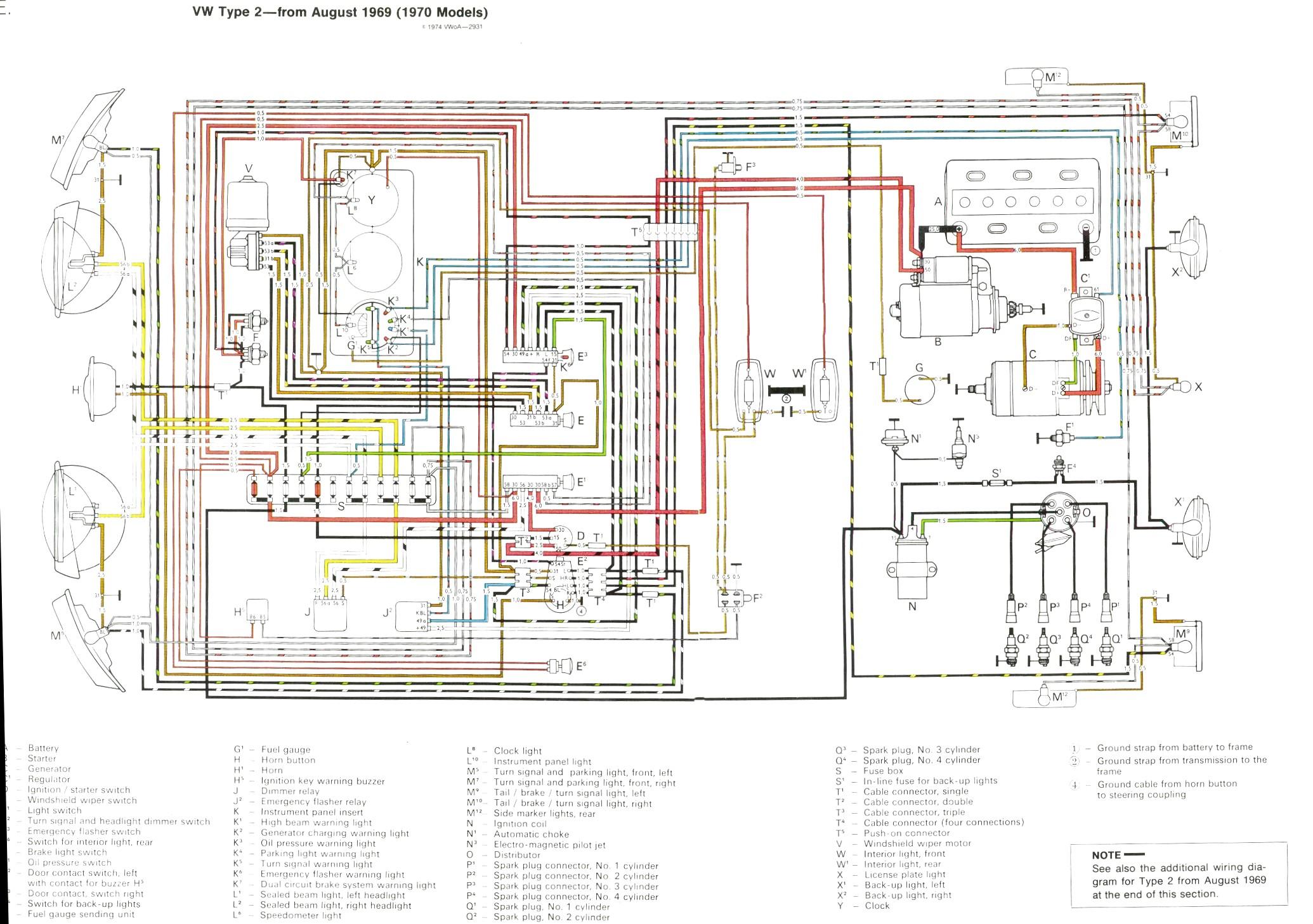 Wondrous 1969 Vw Bus Wiring Diagram Wiring Library Wiring Cloud Histehirlexornumapkesianilluminateatxorg