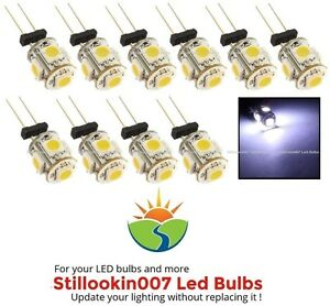 Awesome 10 G4 Low Voltage Landscape Light Led Conversion 5 Cool White Wiring Cloud Waroletkolfr09Org