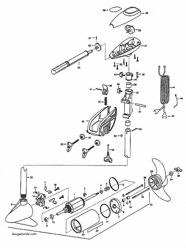 Minn Kota Electric Trolling Motor Parts