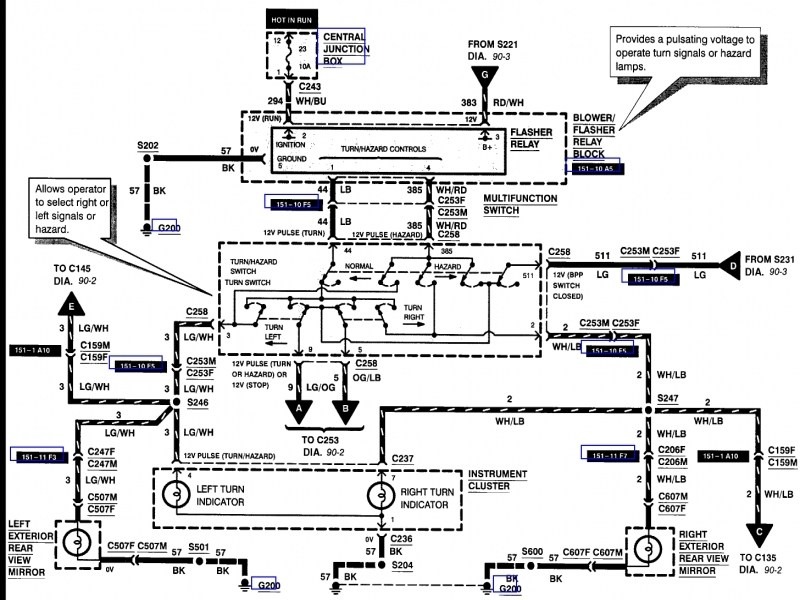 1999 ford f 150 wiring diagrams ye 1376  diagram ford f 150 steering column ford f 150 wiring  diagram ford f 150 steering column ford