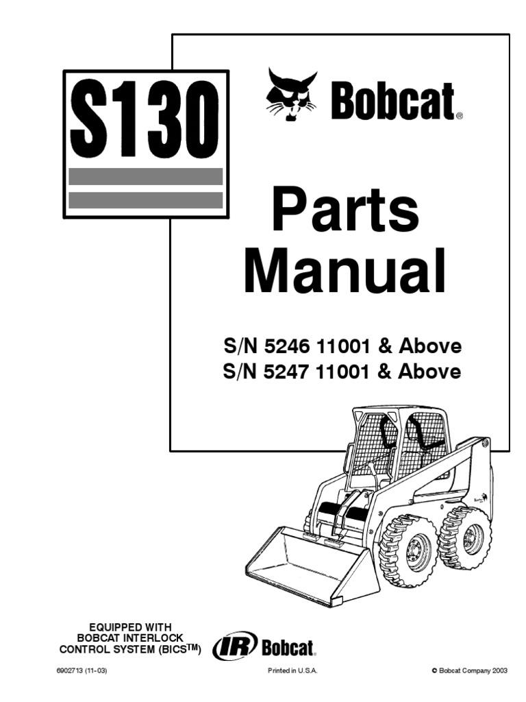 Gb 0742 2003 Bobcat S250 Parts Diagrams Schematic Wiring