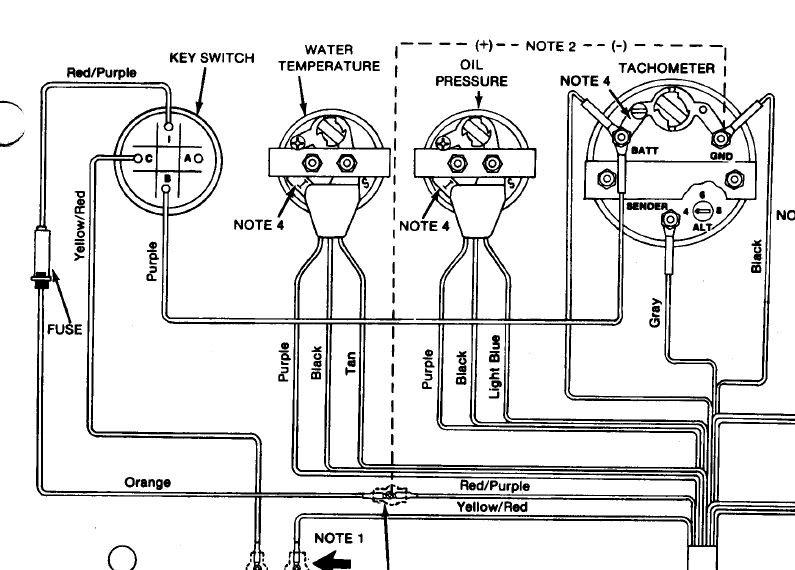 johnson outboard tachometer wiring  vw windshield wiper