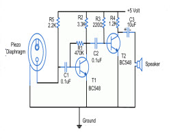 piezo transducer wiring diagram hz 6706  circuit piezo schematic wiring  hz 6706  circuit piezo schematic wiring
