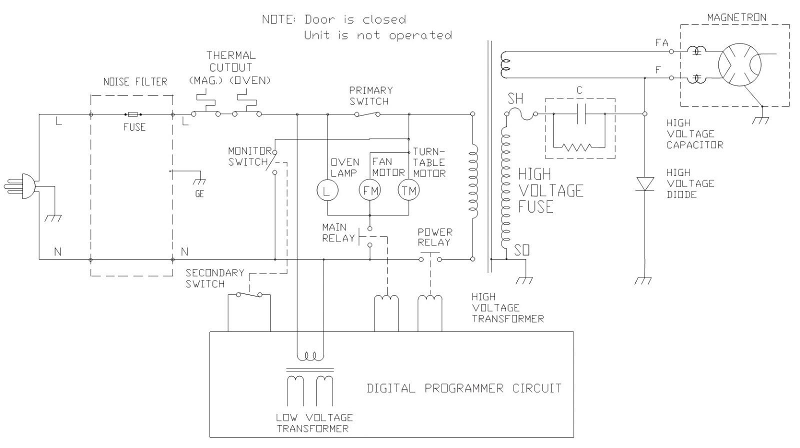 LX_9886] Microwave Wiring Diagram Capacitor Download DiagramPush Emba Mohammedshrine Librar Wiring 101